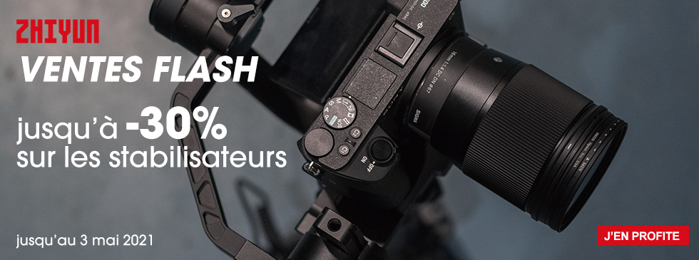 Zhiyun Vente flash